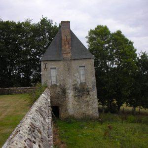 La tour du chapelain de Bellegarde